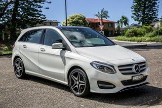 2015 Mercedes-Benz B-Class W246 806MY B180 DCT White 7 Speed Sports Automatic Dual Clutch Hatchback.