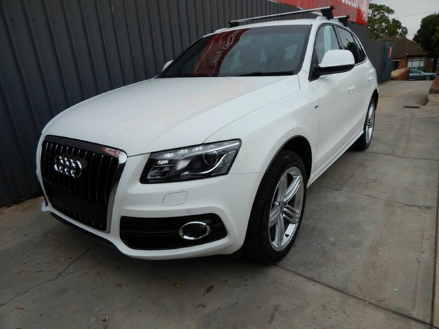 Used Audi Q5 8R MY12 TDI S Tronic Quattro Blair Athol, 2012 Audi Q5 8R MY12 TDI S Tronic Quattro White 7 Speed Sports Automatic Dual Clutch Wagon