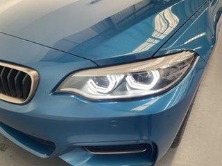 2020 BMW 2 Series F22 LCI M240I Long Beach Blue 8 Speed Sports Automatic Coupe