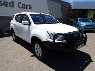 2018 Isuzu MU-X MY18 LS-M Rev-Tronic White 6 Speed Sports Automatic Wagon.