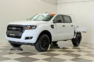 2017 Ford Ranger PX MkII MY17 Update XL 2.2 Hi-Rider (4x2) White 6 Speed Automatic Crew Cab Chassis