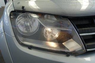 2014 Volkswagen Amarok 2H MY14 TDI400 Highline (4x4) Silver 6 Speed Manual Dual Cab Utility