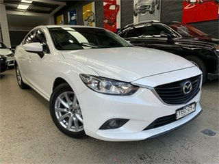 2012 Mazda 6 GJ1031 Sport White Sports Automatic Sedan.