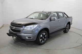 2016 Holden Colorado RG MY16 Storm Crew Cab Grey 6 Speed Sports Automatic Utility.