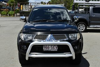 2012 Mitsubishi Triton MN MY12 GLX-R (4x4) Black 5 Speed Manual 4x4 Double Cab Utility.