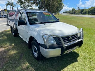 2003 Holden Rodeo RA DX 4x2 White 5 Speed Manual Cab Chassis