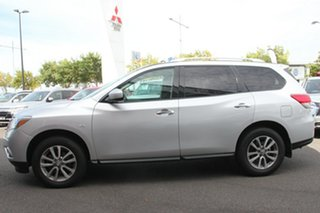 2013 Nissan Pathfinder R52 MY14 ST X-tronic 2WD Silver, Chrome 1 Speed Constant Variable Wagon