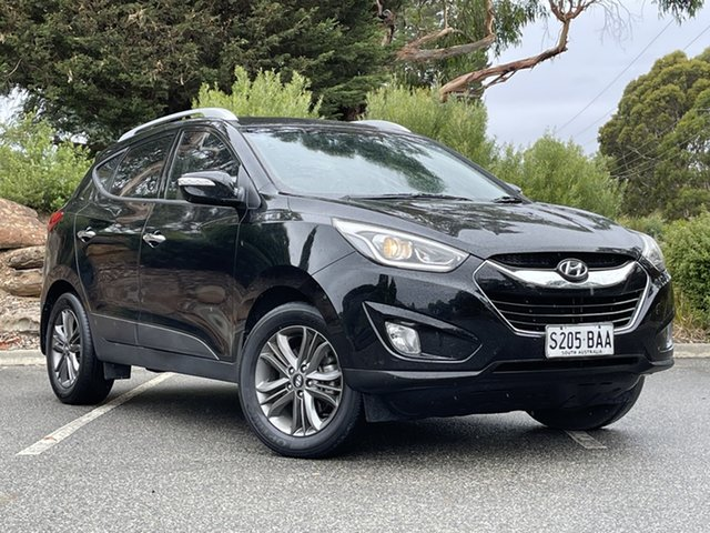 Used Hyundai ix35 LM2 Elite AWD Totness, 2013 Hyundai ix35 LM2 Elite AWD Phantom Black 6 Speed Sports Automatic Wagon
