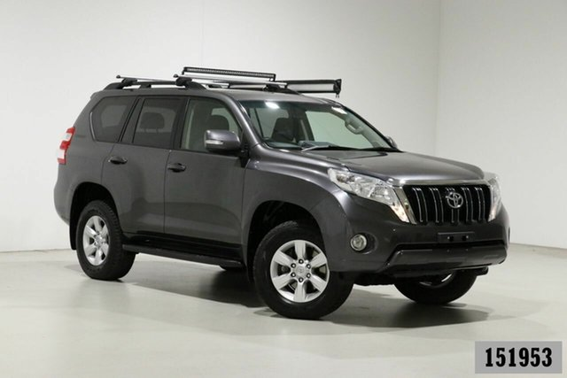 Used Toyota Landcruiser Prado GDJ150R MY16 GXL (4x4) Bentley, 2015 Toyota Landcruiser Prado GDJ150R MY16 GXL (4x4) Grey 6 Speed Automatic Wagon