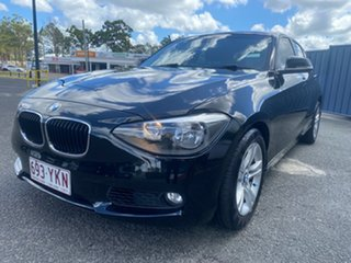 2013 BMW 1 Series F20 118i Black 8 Speed Sports Automatic Hatchback