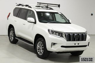 2018 Toyota Landcruiser Prado GDJ150R Kakadu (4x4) White 6 Speed Automatic Wagon