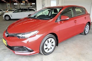 2016 Toyota Corolla ZRE182R Ascent S-CVT Wildfire 7 Speed Constant Variable Hatchback