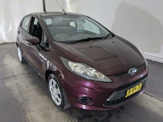 2012 Ford Fiesta WT CL Purple 5 Speed Manual Hatchback