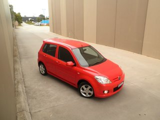 2006 Mazda 2 DY10Y2 Genki Bright Red 4 Speed Automatic Hatchback