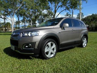 2015 Holden Captiva CG MY15 7 LTZ (AWD) Bronze 6 Speed Automatic Wagon.