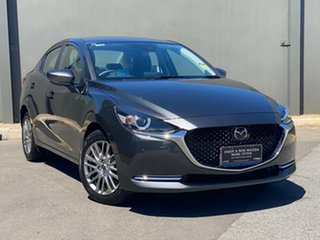 2020 Mazda 2 DL2SAA G15 SKYACTIV-Drive GT Machine Grey 6 Speed Sports Automatic Sedan.