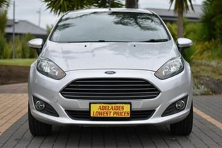 2014 Ford Fiesta WZ Trend PwrShift Silver 6 Speed Sports Automatic Dual Clutch Hatchback.