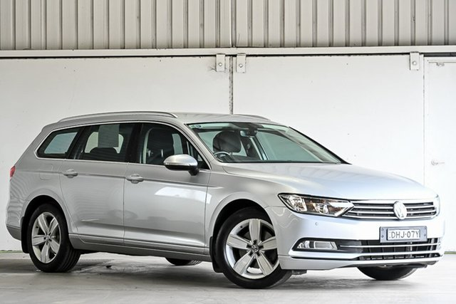 Used Volkswagen Passat 3C (B8) MY17 132TSI DSG Laverton North, 2016 Volkswagen Passat 3C (B8) MY17 132TSI DSG Silver 7 Speed Sports Automatic Dual Clutch Wagon