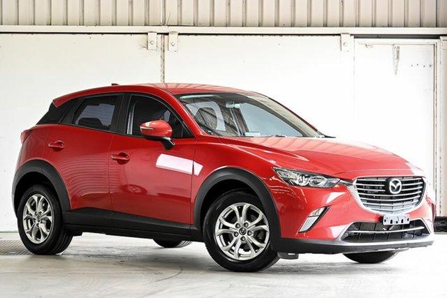 Used Mazda CX-3 DK2W76 Maxx SKYACTIV-MT Laverton North, 2015 Mazda CX-3 DK2W76 Maxx SKYACTIV-MT Red 6 Speed Manual Wagon