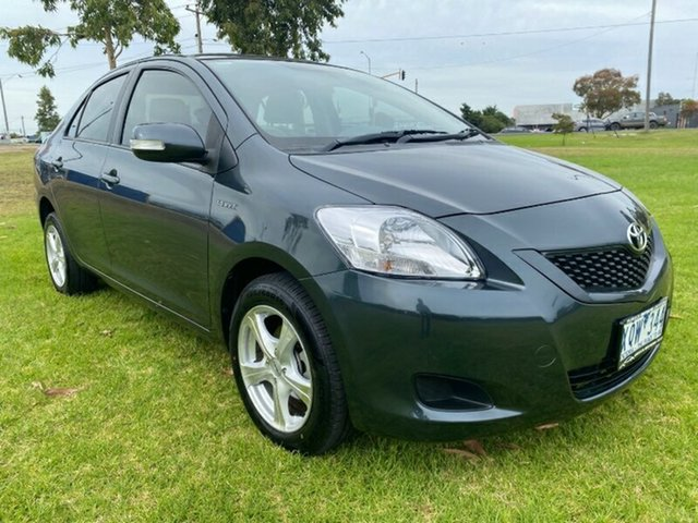 Used Toyota Yaris NCP93R MY10 YRS Melton, 2010 Toyota Yaris NCP93R MY10 YRS Grey 4 Speed Automatic Sedan