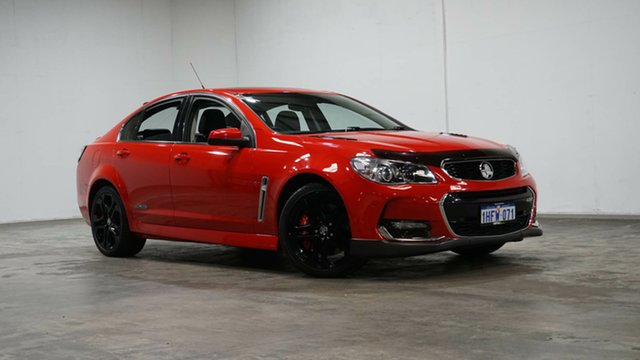 Used Holden Commodore VF II MY16 SS V Redline Welshpool, 2016 Holden Commodore VF II MY16 SS V Redline Red 6 Speed Sports Automatic Sedan