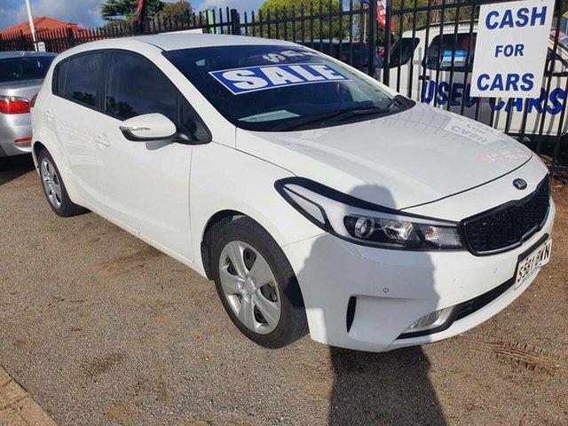 Used Kia Cerato BD MY19 Sport+ Morphett Vale, 2018 Kia Cerato BD MY19 Sport+ White 6 Speed Sports Automatic Sedan