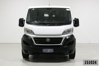 2018 Fiat Ducato Series 6 SWB/Low White 6 Speed Automatic Van.