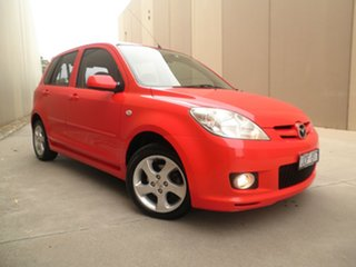 2006 Mazda 2 DY10Y2 Genki Bright Red 4 Speed Automatic Hatchback.