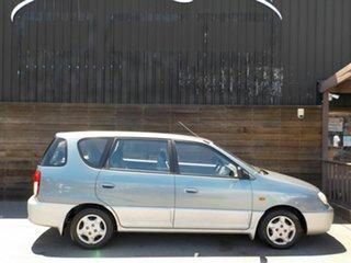 2000 Kia Carens Grey 5 Speed Manual Hatchback.