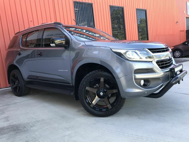 Used Holden Trailblazer RG MY18 Z71 Molendinar, 2017 Holden Trailblazer RG MY18 Z71 Grey 6 Speed Sports Automatic Wagon
