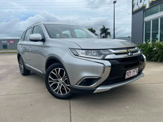 2018 Mitsubishi Outlander ZL MY18.5 ES 2WD Silver 6 Speed Constant Variable Wagon.