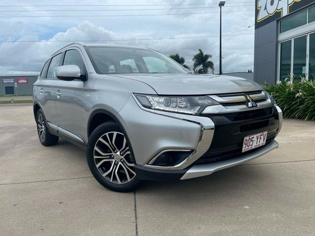 Used Mitsubishi Outlander ZL MY18.5 ES 2WD Townsville, 2018 Mitsubishi Outlander ZL MY18.5 ES 2WD Silver 6 Speed Constant Variable Wagon
