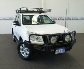 2012 Toyota Landcruiser Prado KDJ150R GX Glacier White 5 Speed Sports Automatic Wagon.