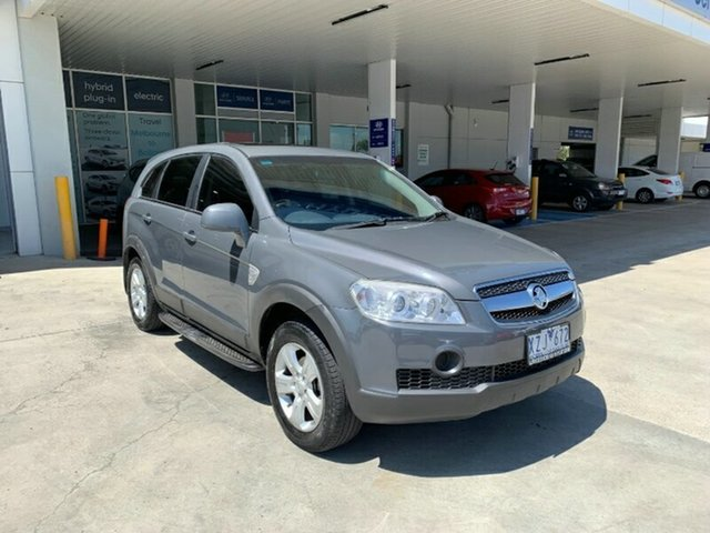 Used Holden Captiva CG MY10 SX AWD Melton, 2010 Holden Captiva CG MY10 SX AWD Grey 5 Speed Sports Automatic Wagon