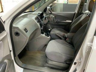 2008 Hyundai Tucson 08 Upgrade City SX White 5 Speed Manual Wagon