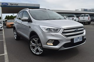 2019 Ford Escape ZG 2019.75MY Titanium Silver 6 Speed Sports Automatic Dual Clutch SUV.