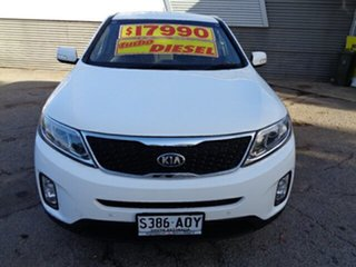 2012 Kia Sorento XM MY13 Si 4WD White 6 Speed Sports Automatic Wagon.