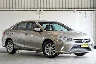 2016 Toyota Camry ASV50R Altise Magnetic Bronze 6 Speed Sports Automatic Sedan.