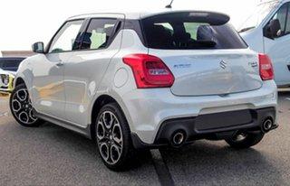 2020 Suzuki Swift AZ Series II Sport Pure White Pearl 6 Speed Manual Hatchback.