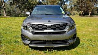 2020 Kia Seltos SP2 MY21 Sport+ 2WD Steel Grey 1 Speed Automatic Wagon.