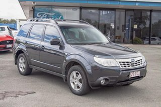 2012 Subaru Forester S3 MY12 X AWD Dark Grey 4 Speed Sports Automatic Wagon