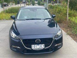 2018 Mazda 3 BN5438 SP25 SKYACTIV-Drive Astina Blue 6 Speed Sports Automatic Hatchback