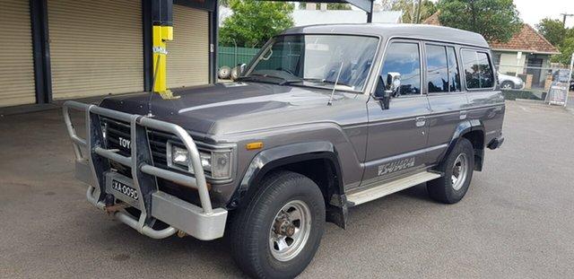 Used Toyota Landcruiser Sahara (4x4) Prospect, 1988 Toyota Landcruiser Sahara (4x4) Grey 4 Speed Automatic 4x4 Wagon