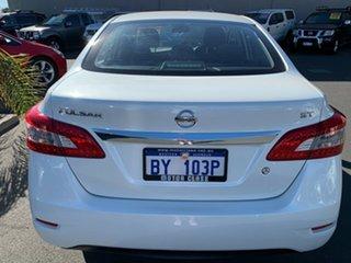 2015 Nissan Pulsar B17 Series 2 ST White 6 Speed Manual Sedan.