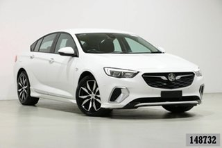 2018 Holden Commodore ZB RS White 9 Speed Automatic Liftback.