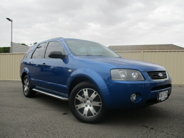 Used Ford Territory SY SR Murray Bridge, 2007 Ford Territory SY SR Blue 4 Speed Sports Automatic Wagon