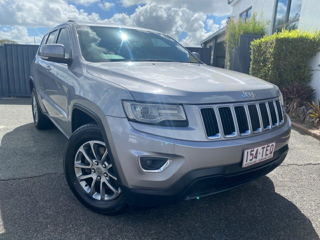 Used Jeep Grand Cherokee WK MY2013 Laredo Slacks Creek, 2013 Jeep Grand Cherokee WK MY2013 Laredo Silver 5 Speed Sports Automatic Wagon