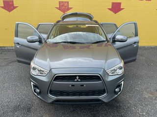 2015 Mitsubishi ASX XB MY15 LS White 6 Speed Variable Wagon.