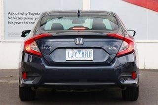 2017 Honda Civic 10th Gen MY17 VTi-L Grey 1 Speed Constant Variable Sedan.