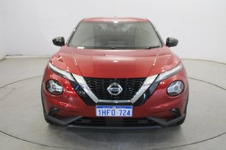 2020 Nissan Juke F16 Ti DCT 2WD Red 7 Speed Sports Automatic Dual Clutch Hatchback.